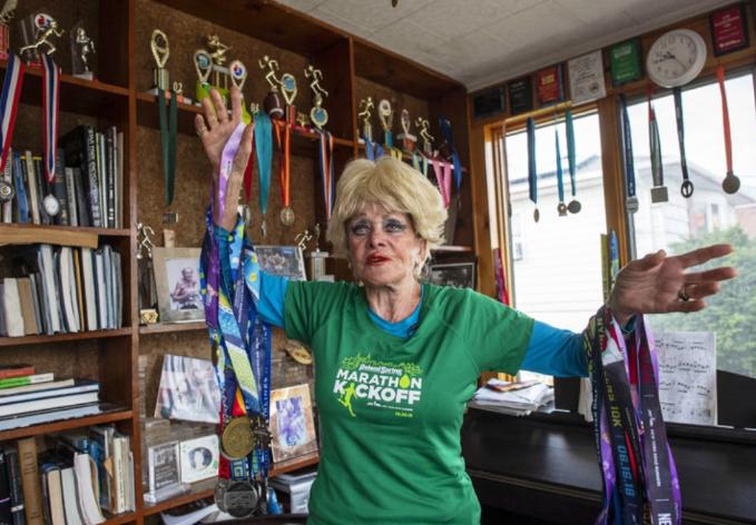 image001-1 El ejemplo de superación de Ginette Bedard, con 85 años completa su 16º maratón de Nueva York Noticias Triatlón