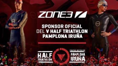 Photo of Zone 3 patrocinador oficial del V Half Triathlon Pamplona Iruña