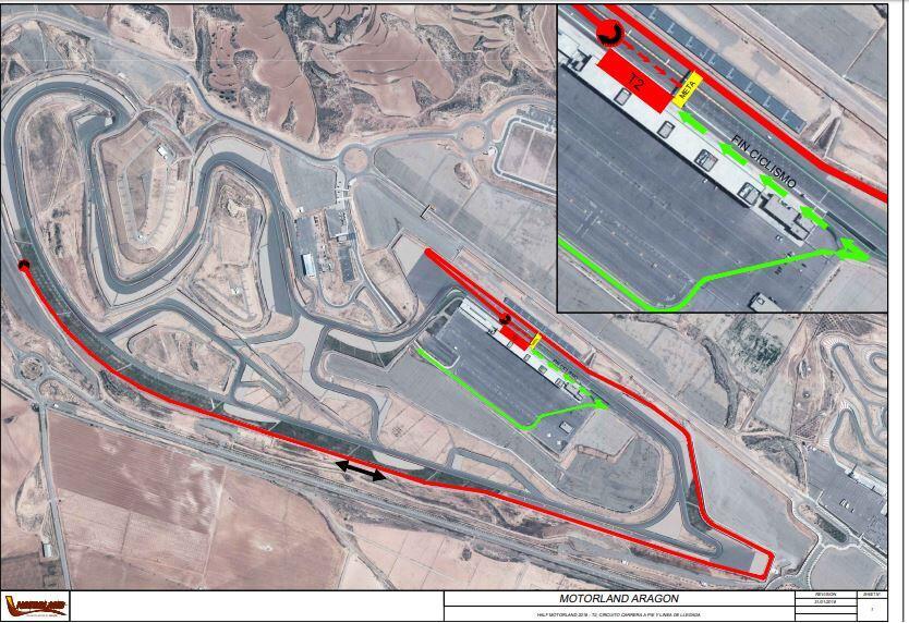 circuito-carrera-pie-motorland Nace el I MotorLand Aragon Half Triathlon: compite en un circuito de MotoGP Noticias Triatlón