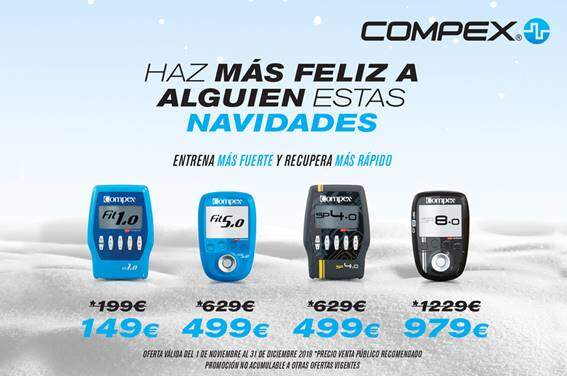 Last days to buy your Compex and receive it before KINGS!