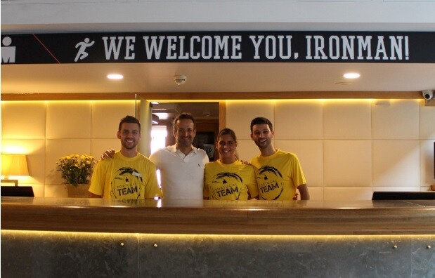From the office of a hotel to the Ironman of Kona