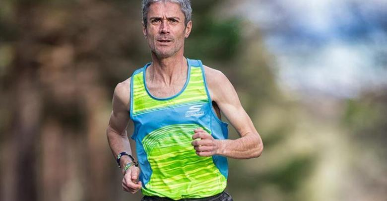 Martín Fiz breaks Spain's record of 10K in his Age Group