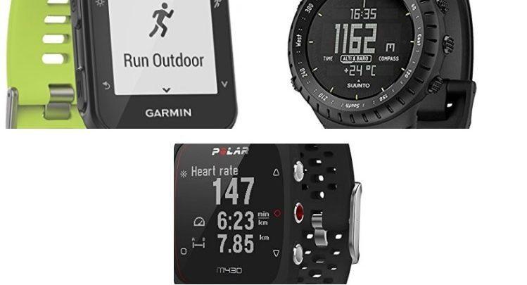 Ofertas en relojes GPS Garmin, Polar y Suunto