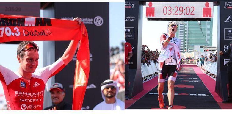Kristian Blummenfelt favorito en el Ironman 70.3 Dubai