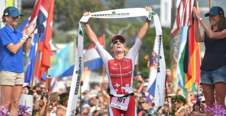 The previous women's IRONMAN World Championship