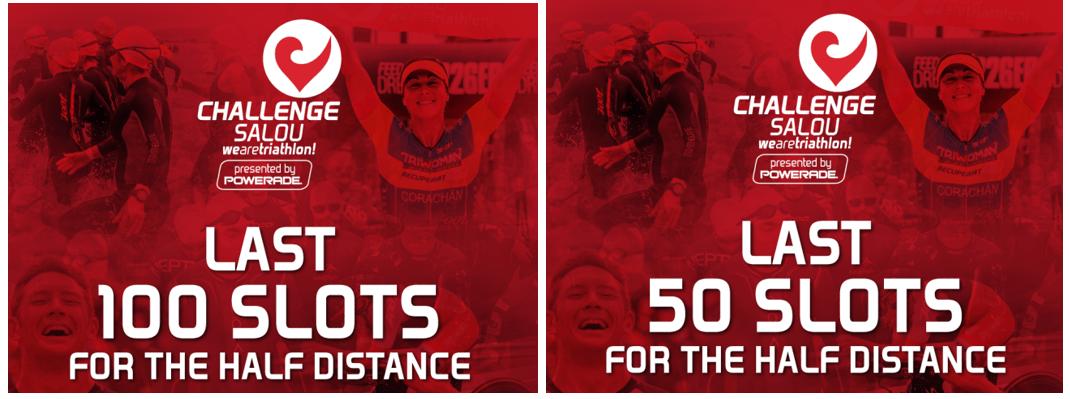 Últimos 150 dorsales para Challenge Salou