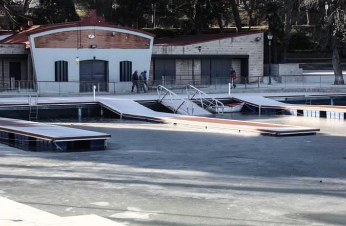image003 Ya se puede volver a nadar en el Lago de Casa de Campo de Madrid Noticias Triatlón