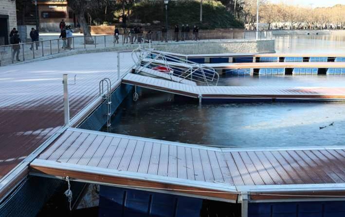 image004 Ya se puede volver a nadar en el Lago de Casa de Campo de Madrid Noticias Triatlón