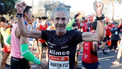 Photo of Martín Fiz 10K world record for over 55s
