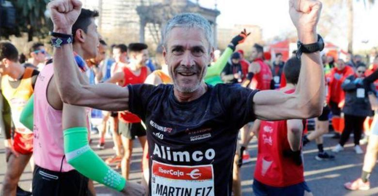 Martín Fiz world record in 10K for over 55s