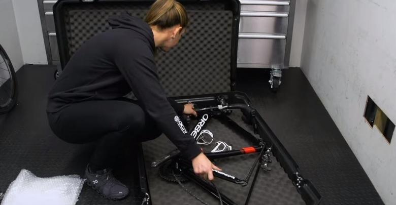 How to pack the bicycle to travel by plane?