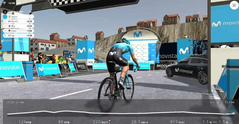 Festibike acogerá la final del Movistar Virtual Cycling