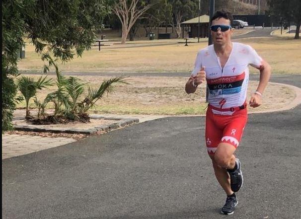 javier-gomez-noya-carrera-ironman703-beelong Javier Gómez Noya arrasa en el IRONMAN 70.3 Geelong Noticias Ironman