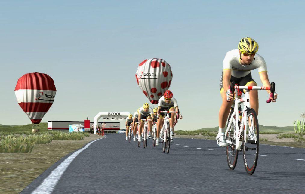 sesion-virtual-volta-cataluna-2 La Volta, primera carrera UCI World Tour que tendrá una versión virtual gracias a Bkool Noticias ciclismo