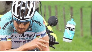 Photo of The UCI will fine more than 800 euros for throwing drums on the road