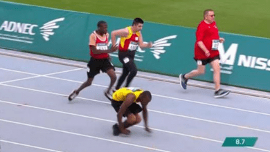 Photo of A story of overcoming, Kirk Wint runs crawling 50 meters and wins the silver medal