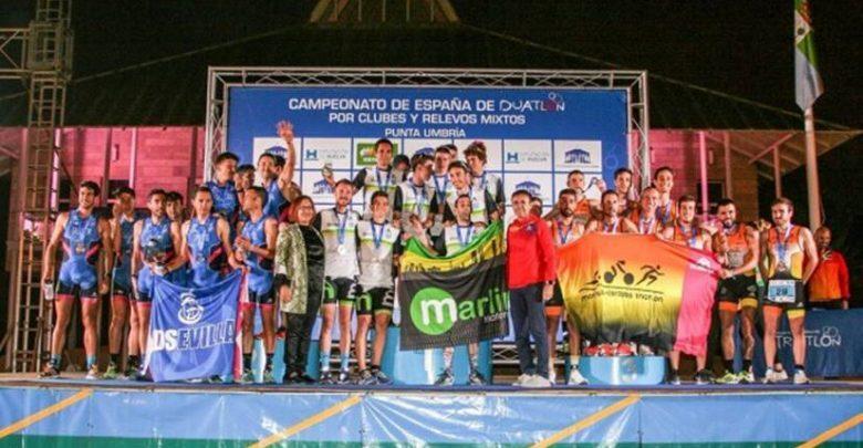 Marlins Madrid Triathlon and Cidade Lugo Fluvial champions of Spain of Duathlon by Clubs