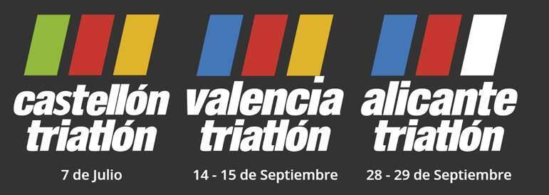 Publicadas las fechas para el circuito Mediterránea Triatlón 2019