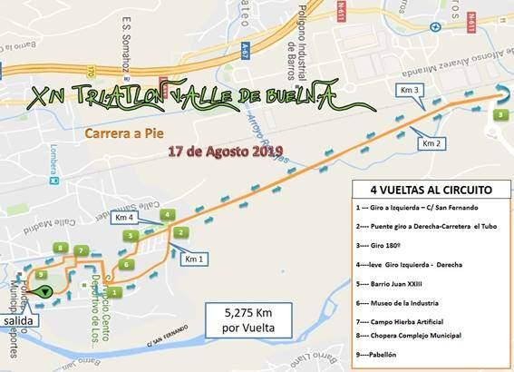 Publicados los circuitos del triatlón de Buelna, un clásico del verano