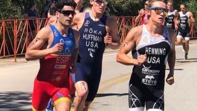 Photo of Javier Lluch fourth in the CAMTRI Cup in Sarasota