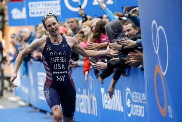 Photo of Katie Zaferes wins the Abu Dhabi World Series