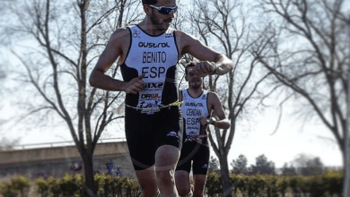 Photo of Antonio Benito Champion of Spain of Duathlon 2019