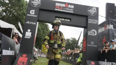 Photo of Two stories to admire at the IRONMAN 70.3 FLorida