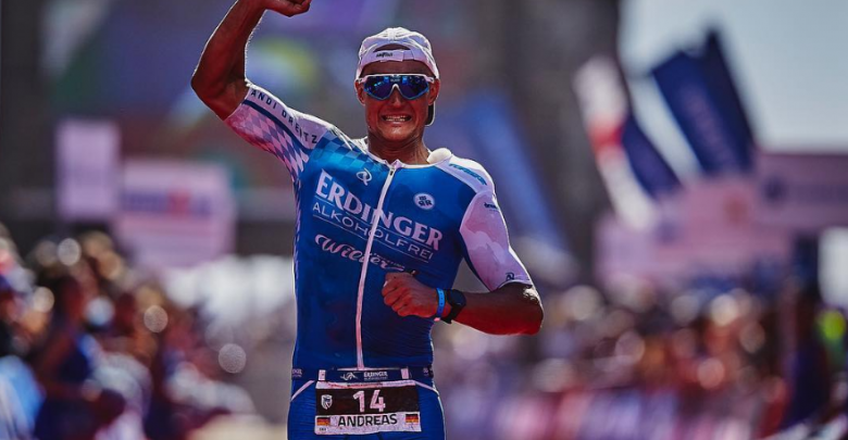 Andreas Dreitz wins the IRONMAN 70.3 Marbella with Alistair Brownlee comeback