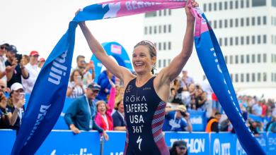 Photo de Katie Zaferes Championne du monde de triathlon 2019