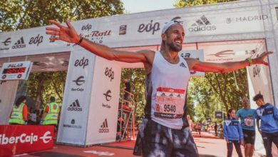 Photo of Chema Martínez finished last in the Madrid marathon and overtook 7.063 runners