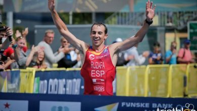 Photo of Rubén Ruzafa subcampeón del Mundo de Triatlón Cros