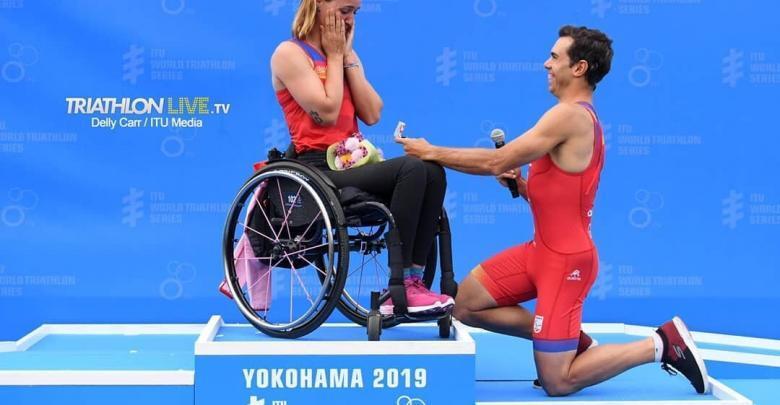 Eva Moral und Ángel Salamanca fragten Yokohama