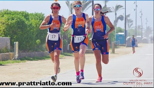 The Catalan Triathlon Team Championship is suspended due to a frontal accident