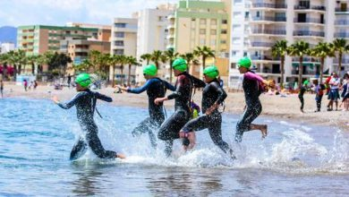 Photo of Águilas receives almost 4.000 triathletes in the Copa del Rey and Copa de la Reina of Triathlon
