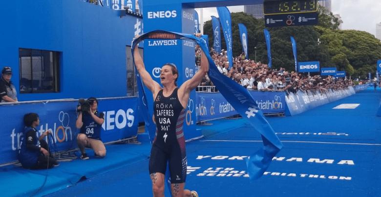 Katie Zaferes gana la Series Mundiales de Yokohama