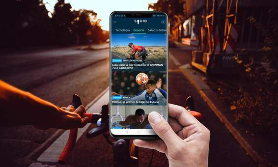 Photo of Triathlon News comes to Squid, The News App for IOS and Android