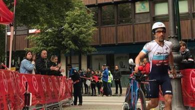 Photo of Eneko Llanos y Anna Noguera ganan el Half Triathlon Pamplona