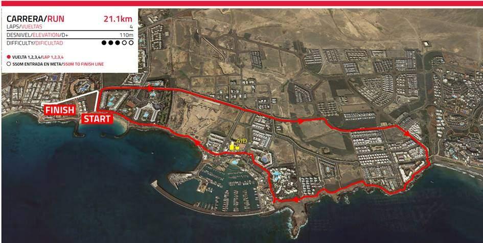 Segmento Ciclismo IRONMAN 70.3 Lanzarote 2019