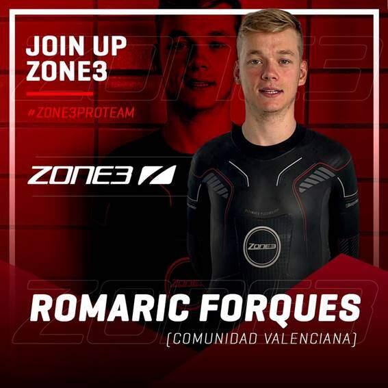 Presentación del equipo profesional de Triatlón Zone3 España