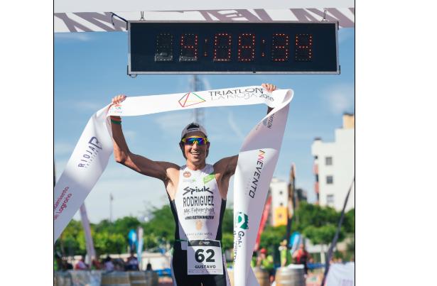 Gustavo Rodriguez, triatlón de la rioja 2018
