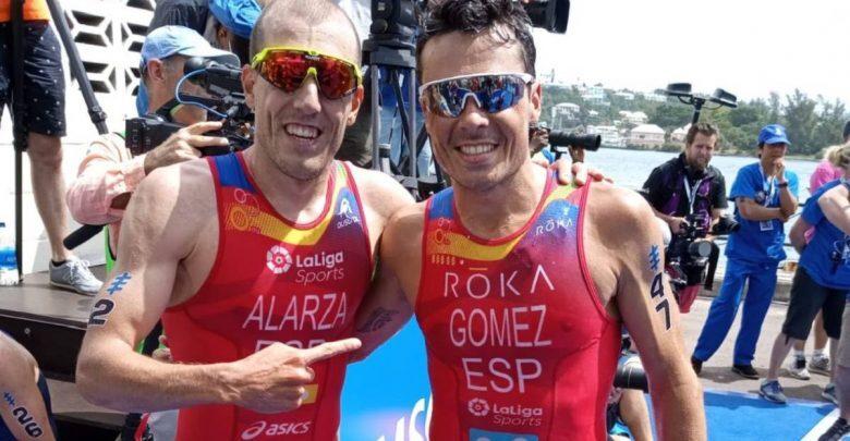 Fernando Alarza y Javier Gómez Noya