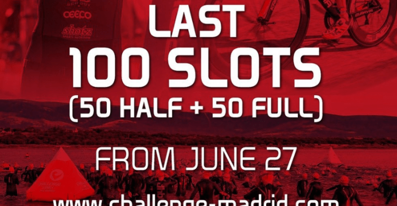 last 100 slots for challenge madrid 2019