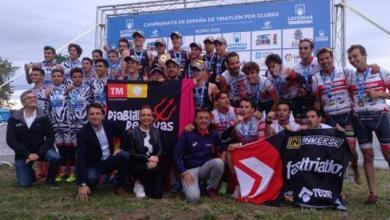 Photo of Imps of Rivas and Cidade de Lugo Champions of Spain Triathlon by Clubs