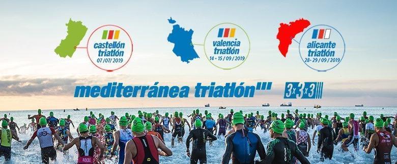 Logo Mediterranea triatlon 2019