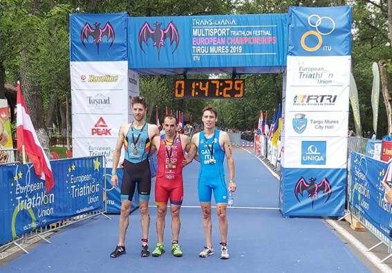 Rubén Ruzafa Champion d'Europe de Triathlon Cross 2019