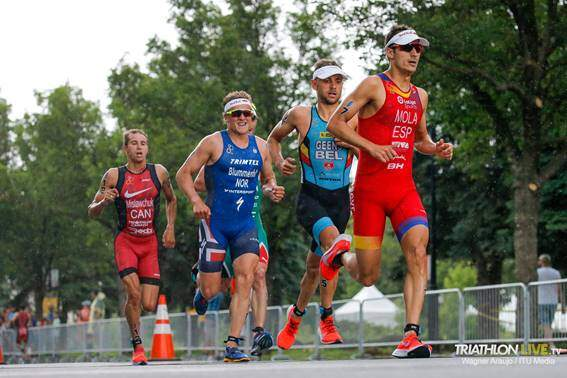Mario Mola at the head of the WTS Montreal 2019