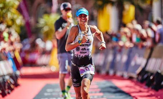 Saleta Castro in IRONMAN competition