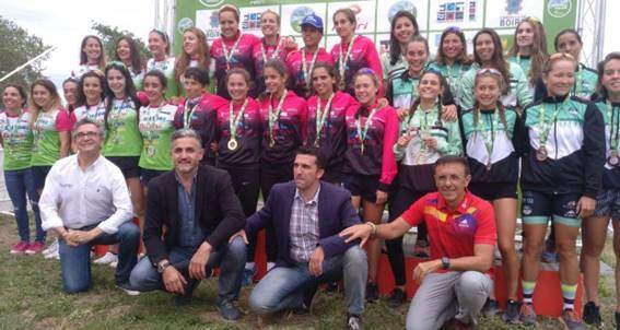 Cidade de Lugo Fluvial wins the 2019 Women's Club Spain Triathlon Championship in Boiro, third day of the Iberdrola Triathlon League