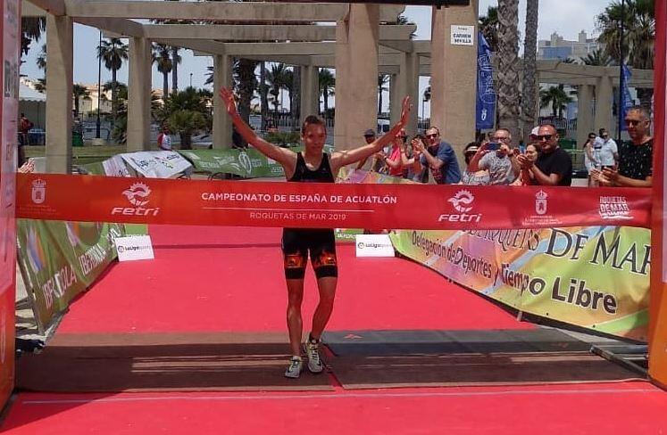 Xisca Tous Campeona de España Acuatlón