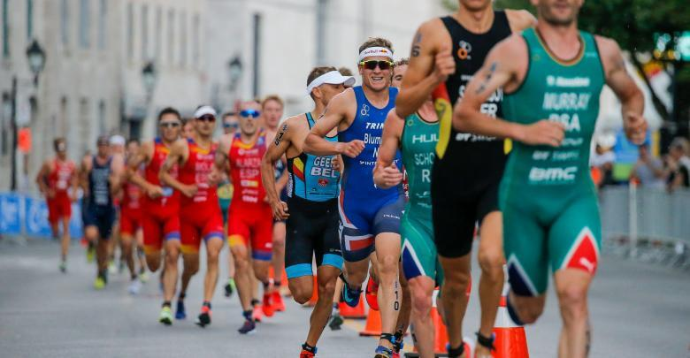 Foot race in the World Triathlon Series